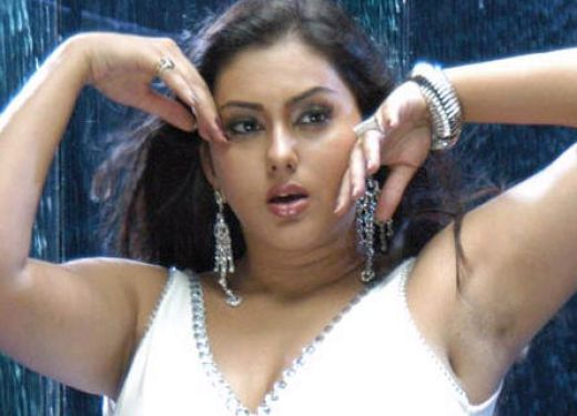Hairy Armpits Of Sexy Indian Actress Namitha