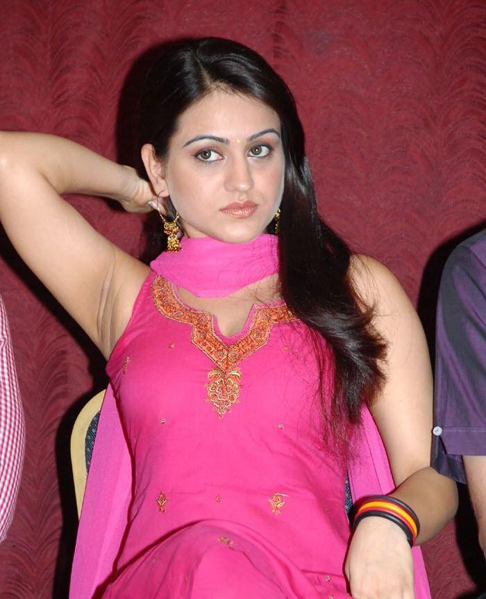 Actress Aksha Fleshy Armpits